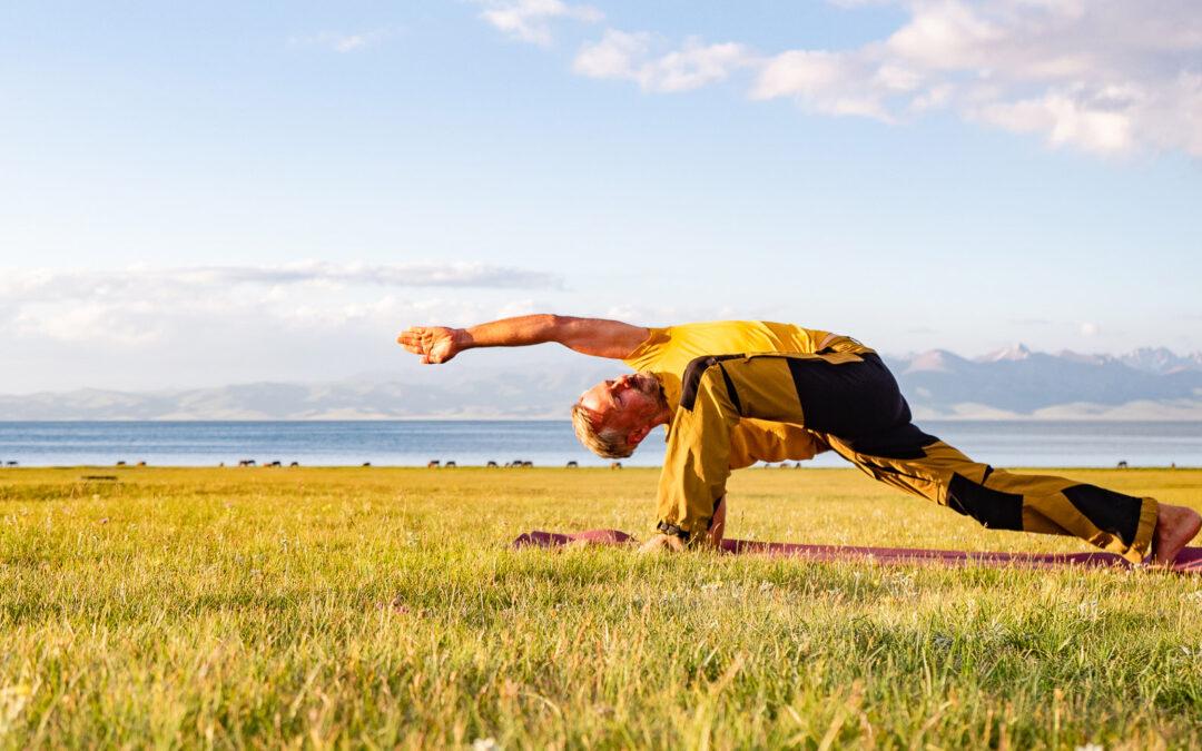 Yoga für den Alltag: Schulter- und Nacken mit Ramadhuta