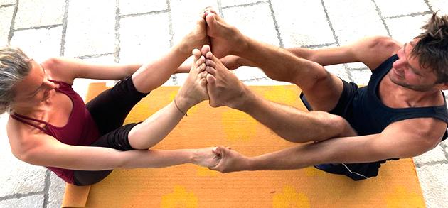 Partneryoga Yoga zu Zweit